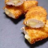 選べるメイン②長州地鶏のチーズ揚げ
