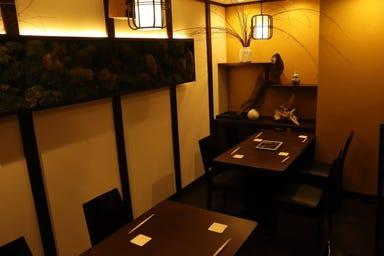 蕎麦和食はたり  店内の画像