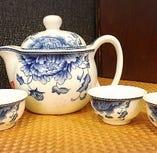 本場仕込みの台湾茶は、ティーポットでご提供いたします。