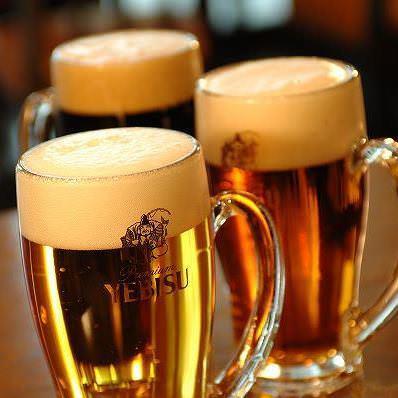 ちょっと贅沢なひと時。 ヱビスビールで乾杯!