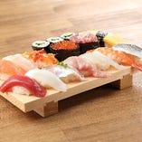 リーズナブルに お寿司を楽しめます!