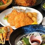 鮮魚も肉ずしも楽しめる♪100種の飲み放題付コースは3,000円~