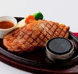 道産牛のサーロインステーキ (200g)