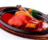 北海道産豚ロース肉のポークチャップ 200g (デミグラスソース仕上げ)
