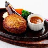 【テイクアウト】ビーフハンバーグステーキ 和風ソース