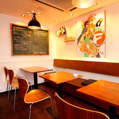 京橋 ワインとイタリアン FINGER FIVE 店内の画像