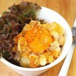 とろ〜り卵のポテトサラダ