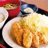 【個数選べる】カキフライ定食