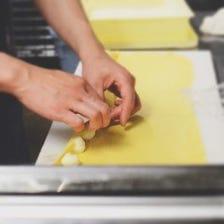 厳選食材×シェフ。素材を生かす料理