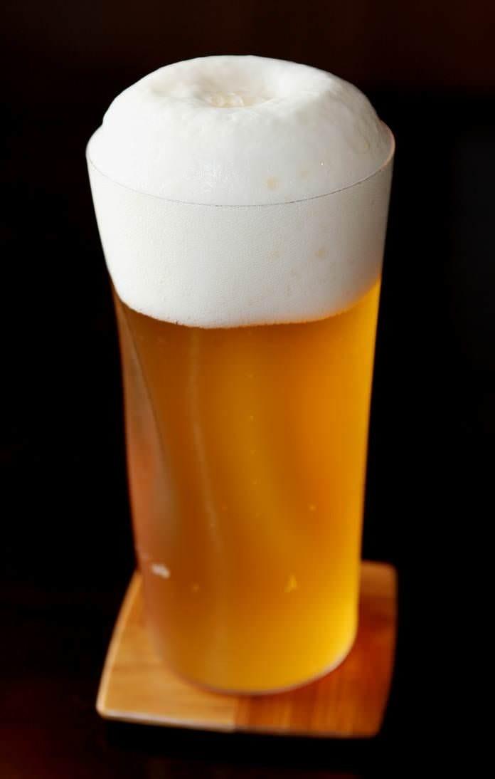 シロコロにはやっぱりビールが 国産各社のプレミアムビールが◎