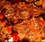①【厚切り牛タン】 炭火焼きコース