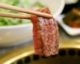 【独自ブランド みやび牛】 厚く切った牛肉の旨みを堪能!