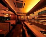 【店内】落ち着いた空間は 大人の宴会やデートに最適です