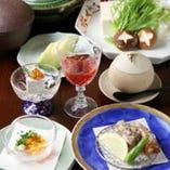 刺、鍋、揚、蒸…と、多彩なお料理ですっぽんを堪能『すっぽんコース』
