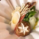 【紙鍋】ずわい蟹すき(鍋)