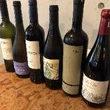 各国100種類以上の珍しいワインをご用意