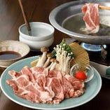 岐阜のブランド豚「ボーノポーク」のしゃぶしゃぶ