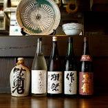 四季の移ろいを味わう季節酒から新酒、地方蔵元の銘酒まで
