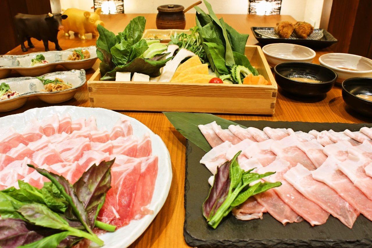 『食べ放題コース』¥4,500