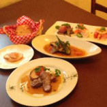 ◆コース料理も充実 3000円〜おまかせコースは4800円