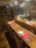 ◆1階はカウンター席◆ 気軽に飲んで、食べて…