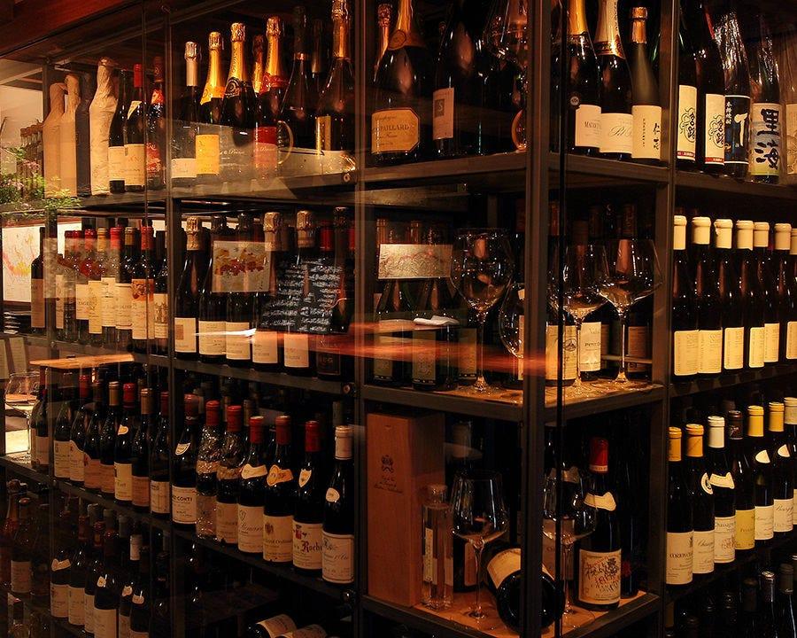 好みのワインが、きっと見つかるはず