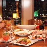 今夜は、いつもと違った雰囲気で飲み会やプライベートパーティーを。 女性が主役のお食事会に喜ばれます
