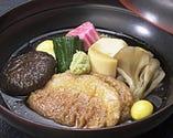 伝統郷土料理である鴨の治部煮