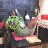 赤白ワインもご用意しています