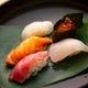 新鮮なネタがウリのお寿司もご堪能いただけます