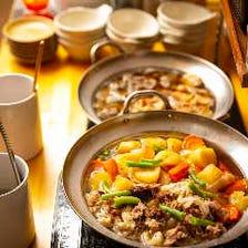 【2時間食べ飲み放題】日替わり惣菜にデザートも♪『牛タン・黒豚・厳選牛肉コース』