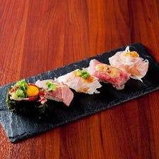 肉寿司5貫盛