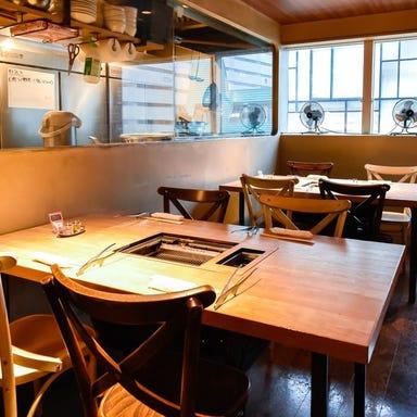 焼肉 HACHI HACHI ソラリア店 店内の画像