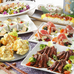 これからの各種お集まりに最適【鮮や一夜】の宴会コース