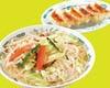 野菜たっぷりタンメン+餃子セット