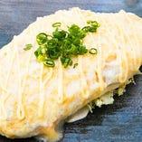 白いとん平チーズ焼き
