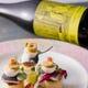 事前にワインを選んでおくワインのマリアージュコースも人気です