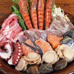 【食堂名物】海鮮ちゃんちゃん焼 みそバター味