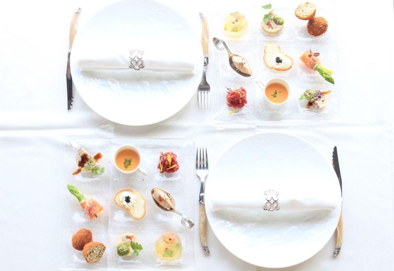 【記念日】乾杯スパ&ホールケーキ付!彩り前菜9種盛りやA4飛騨牛&真鯛のWメインなど1人1皿提供の全7皿