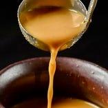 ②「スープ」へのこだわり 〜濃厚美味みそスープ〜