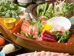 北海道の新鮮な海鮮!