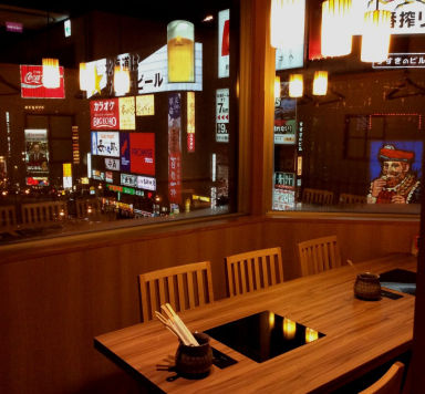 夜景個室×ラムしゃぶ食べ放題 北海しゃぶしゃぶ すすきの本店 店内の画像