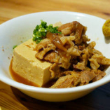 箸休めにも最適!『肉豆腐』。