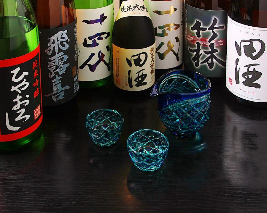 日本酒&焼酎の豊富な取り揃え☆