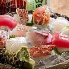 鮮魚の造り盛合せ