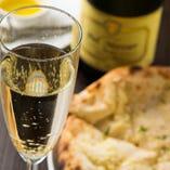 ◆スパークリングワインとスパイスのきいた料理