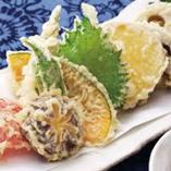 旬野菜の天麩羅盛り合わせ