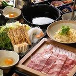 すき焼きには口の中でとろけるぐらい柔らかい神戸牛を使用