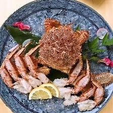 【カニ料理】3大蟹をご堪能