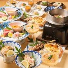 """【桐】(きり)~""""ご宴会席""""えにし名物、蟹と焼鳥を堪能~"""